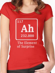 Ah !! the Element of Surprise Women's Fitted Scoop T-Shirt