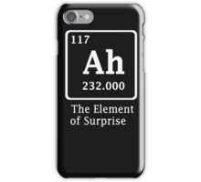 Ah !! the Element of Surprise iPhone Case/Skin