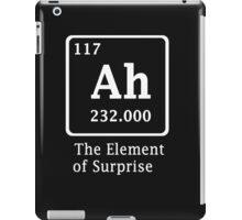 Ah !! the Element of Surprise iPad Case/Skin