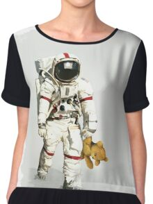 Space can be lonely Chiffon Top