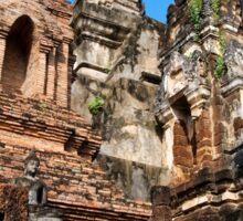 Wat Mahathat in Thailand Sticker