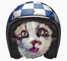 Biker Cat Kids Clothes