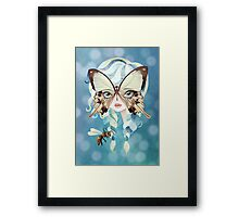 Niella Butterfly Girl Framed Print