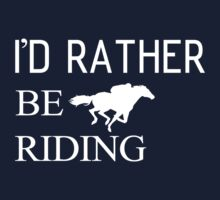 Riding horse and animal Kids Tee