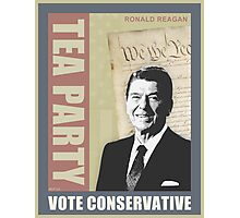 Vote Conservative Photographic Print