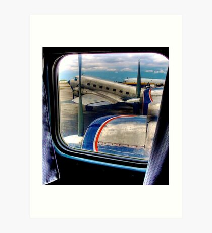 Scene from the Golden Age of Flight  in Color Art Print