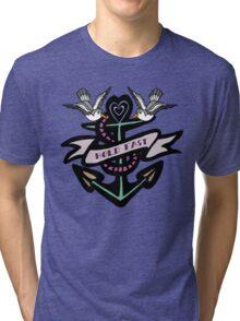 Hold Fast Tattoo Tri-blend T-Shirt