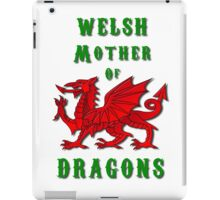 Welsh Mother of Dragons iPad Case/Skin