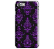 Spooky damask iPhone Case/Skin