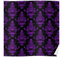 Spooky damask Poster
