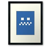 blue ghost Framed Print