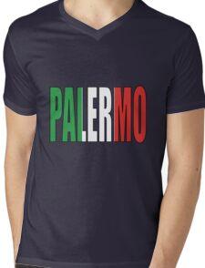 Palermo. Mens V-Neck T-Shirt