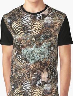 Fall Foliage Graphic T-Shirt