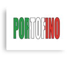 Portofino. Canvas Print