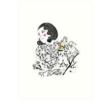 Alluring Alice  Art Print