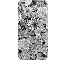 Black Flowers iPhone Case/Skin