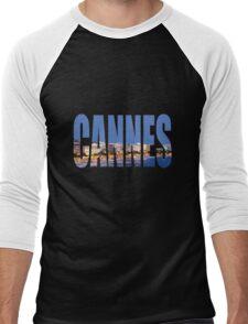 Cannes Men's Baseball ¾ T-Shirt