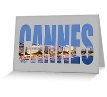 Cannes Greeting Card