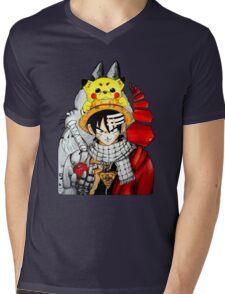 Childhood Anime Mens V-Neck T-Shirt