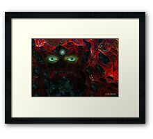 THE PARAMOUNT CAT Framed Print