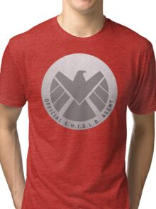 S.H.I.E.L.D. Badge Tri-blend T-Shirt