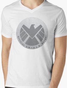 S.H.I.E.L.D. Badge Mens V-Neck T-Shirt