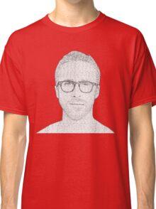 Hey Girl - Black and White Classic T-Shirt