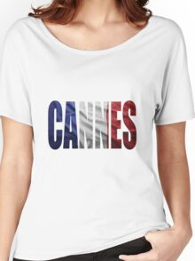 Cannes. Women's Relaxed Fit T-Shirt