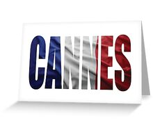 Cannes. Greeting Card