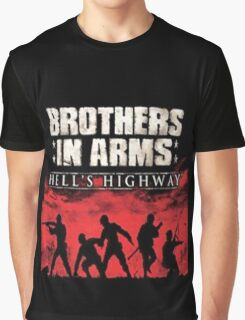 Brothers In Arms Hell's Highway Graphic T-Shirt