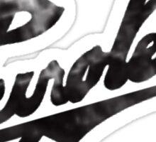 Vintage Chevrolet logo Sticker