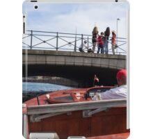 Tourist Boat iPad Case/Skin
