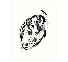 Belle Butterfly Art Print