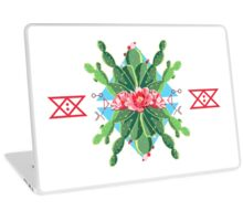 Cactus Flower Power Laptop Skin