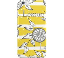 Lemons iPhone Case/Skin