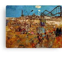 Day Trip to Blackpool  Canvas Print
