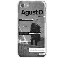 AGUST D Phone Case BTS iPhone Case/Skin