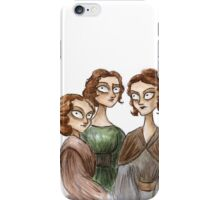 The Bronte Sisters iPhone Case/Skin