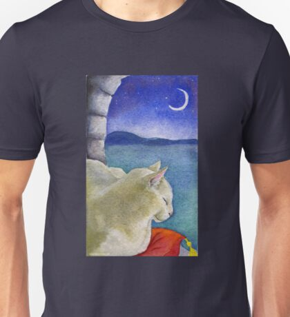 Castle Cat Unisex T-Shirt
