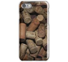 Weinkorken Bordeaux  iPhone Case/Skin