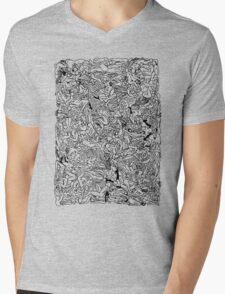 Kamasutra Monotone BW Retro Bodies Mens V-Neck T-Shirt
