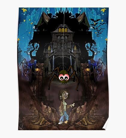 GH7 The Haunted House Poster