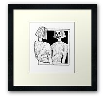 Clarity In All It's Terror Framed Print