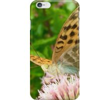Butterfly on Pink Flower iPhone Case/Skin
