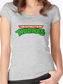 Ninja Thirties Women's Fitted Scoop T-Shirt