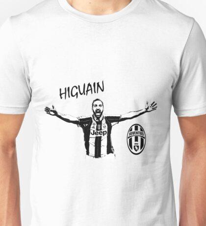 Gonzalo Higuain - Juventus Unisex T-Shirt