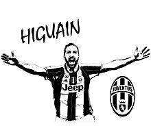 Gonzalo Higuain - Juventus Photographic Print