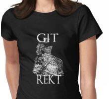 Git Rekt Womens Fitted T-Shirt
