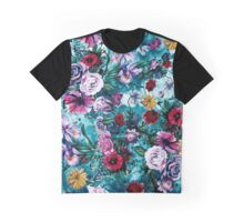 RPE FLORAL OCEAN Graphic T-Shirt