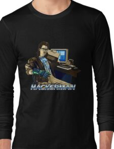 HACKERMAN Long Sleeve T-Shirt